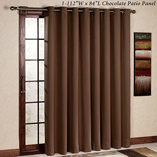 Rhf Thermal Insulated Blackout Patio Door Curtain Panel Https