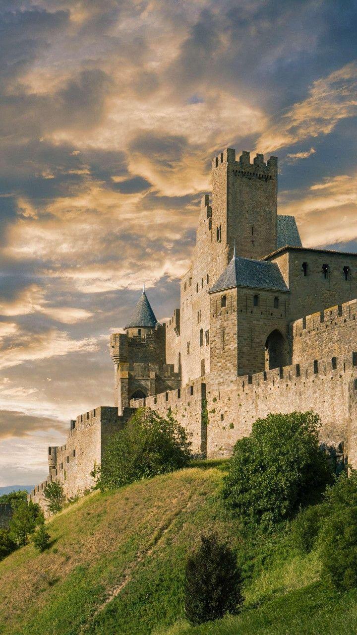 Carcassonne Castle France Castles France Carcassonne Castle French Castles