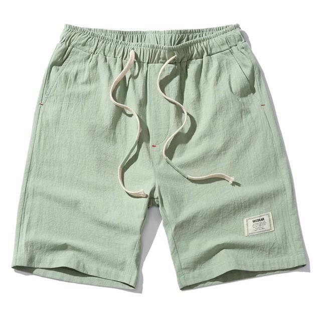 X-Future Mens Beach Pockets Drawstring Waist Light Weight Casual Shorts