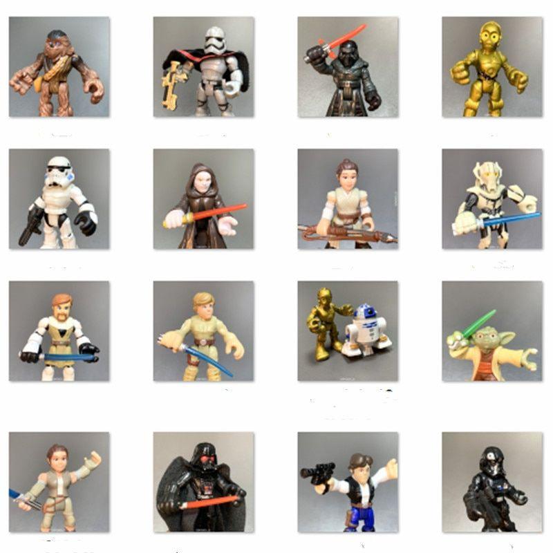 Playskool Star Wars Galactic Heroes Power Up Snowtrooper Action figure