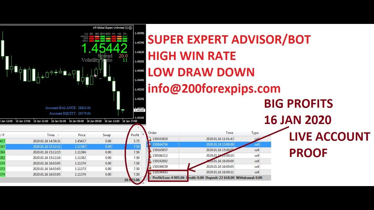 Super Expert Advisor Automated Forex Trading 2020 Review 4