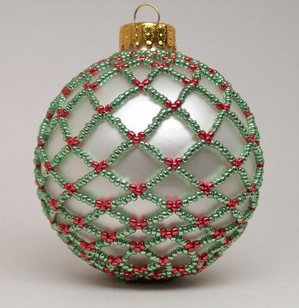 Beaded Christmas ornaments | PowWows.com - Native American Indian ...
