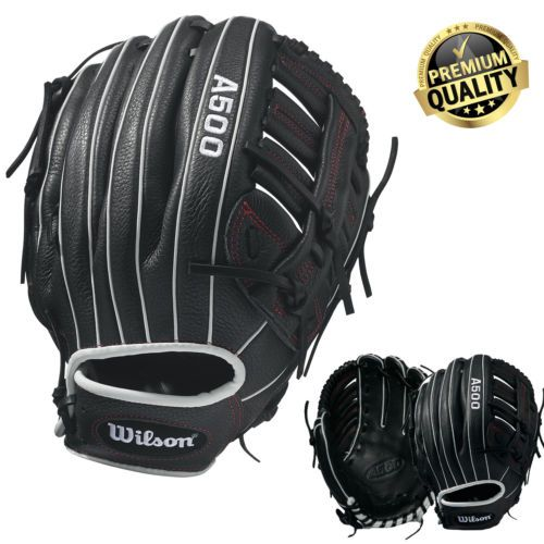 12 5 In Baseball Glove Righty Glove All Positions Wilson Utility Glove Leather Baseball Glove Leather Gloves Leather