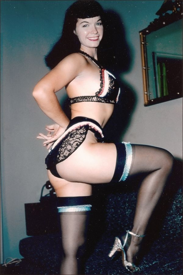 bettie page color # 35
