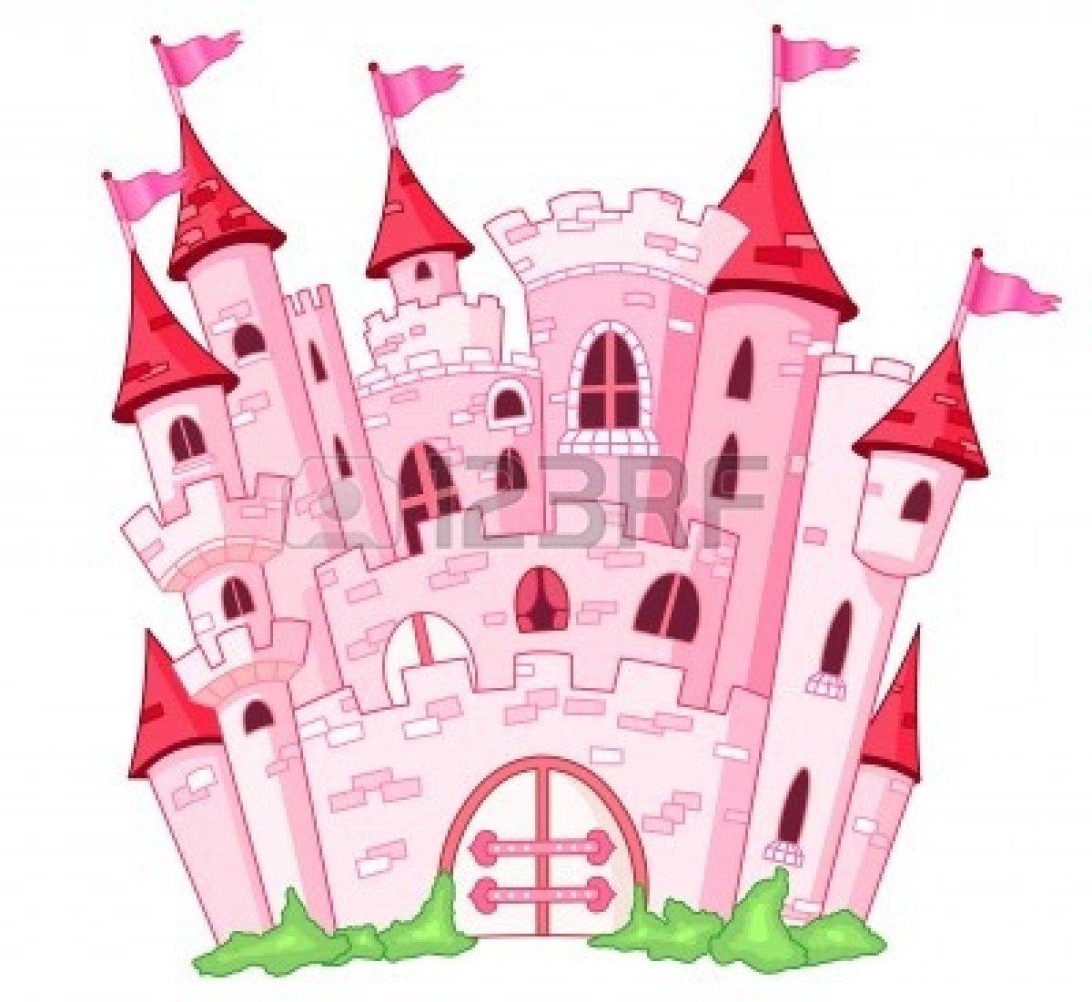 Pink Princess Castle Castle Vector Disney Princess Castle Castle Coloring Page