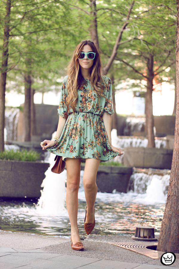 FashionCoolture - 30.04.2014 look du jour Antix floral dress  (7)