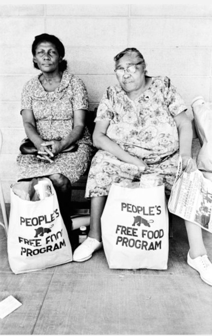 People Free Food Program, Palo Alto, 1972 © Stephen Shames