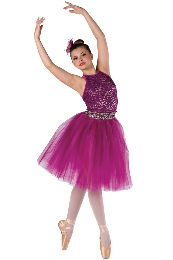 c97f1497e2c5 Style  17343 ALWAYS AND FOREVER Champagne spandex leotard with plum ...