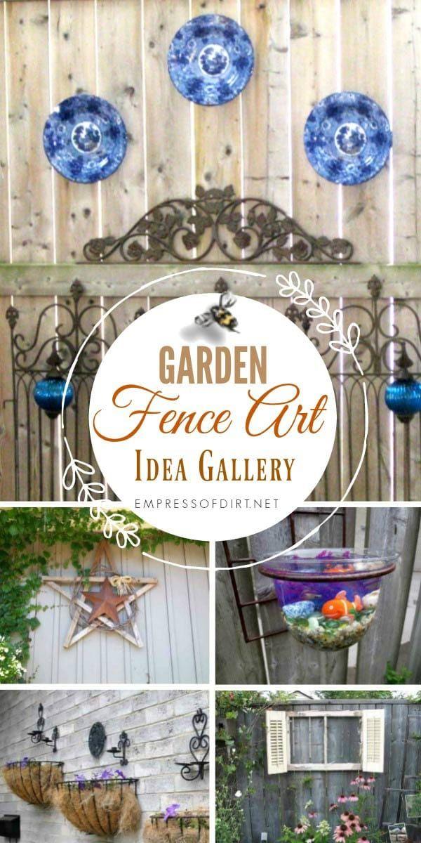 25+ Creative Ideas For Garden Fences -   22 urban garden fence ideas
