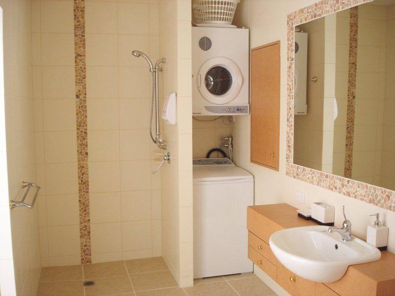 bathroom ideas | Ideas of Small Bathroom with Laundry Creative ...