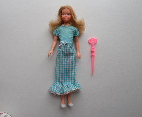 1970's Quick Curl Skipper Doll, Twist 'n Turn, Barbie's