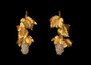 riproduzione di antichi orecchini sardi