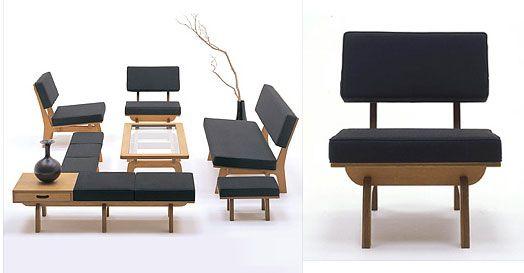 Fabulous Japanese Furniture by Graf   Twenty First Century Retro