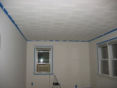 Painting 12 X 12 Ceiling Tiles Acoustic Ceiling Tiles Ceiling Tiles Painted Acoustical Ceiling