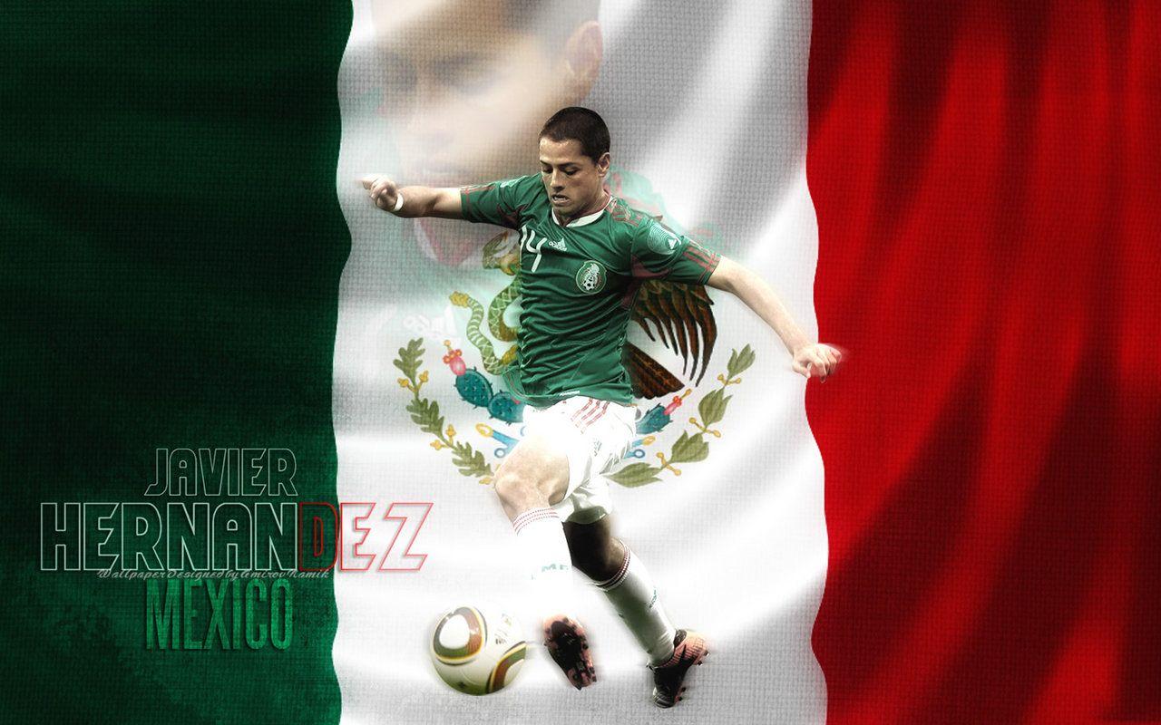 Chicharito Hernandez Mexico Hernandez Chicharito Wallpaper Mexico Wallpaper Good Soccer Players Mexico Soccer