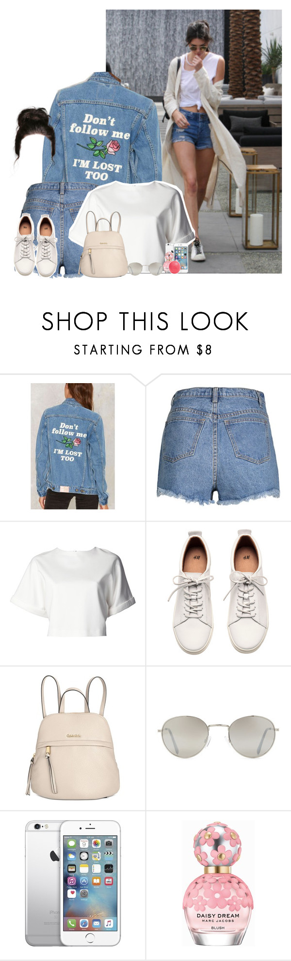 """Out in LA with Kendall"" by fxrever-isnt-for-everyone ❤ liked on Polyvore featuring Kendall + Kylie, Yeah Bunny, ADAM, H&M, Calvin Klein, Forever 21, AT&T, Marc Jacobs, Eos and kendalljenner"