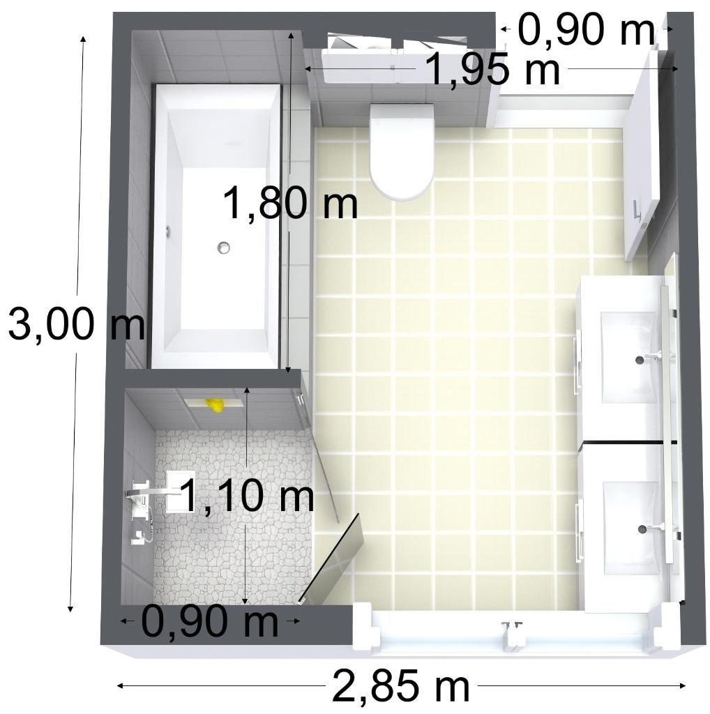 Bathroom floor planner - Bathroom Floor Plan