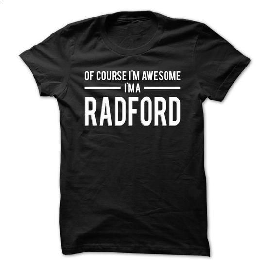 Team Radford - Limited Edition - #athletic sweatshirt #cream sweater. PURCHASE NOW => https://www.sunfrog.com/Names/Team-Radford--Limited-Edition-fbbfbkswcg.html?68278