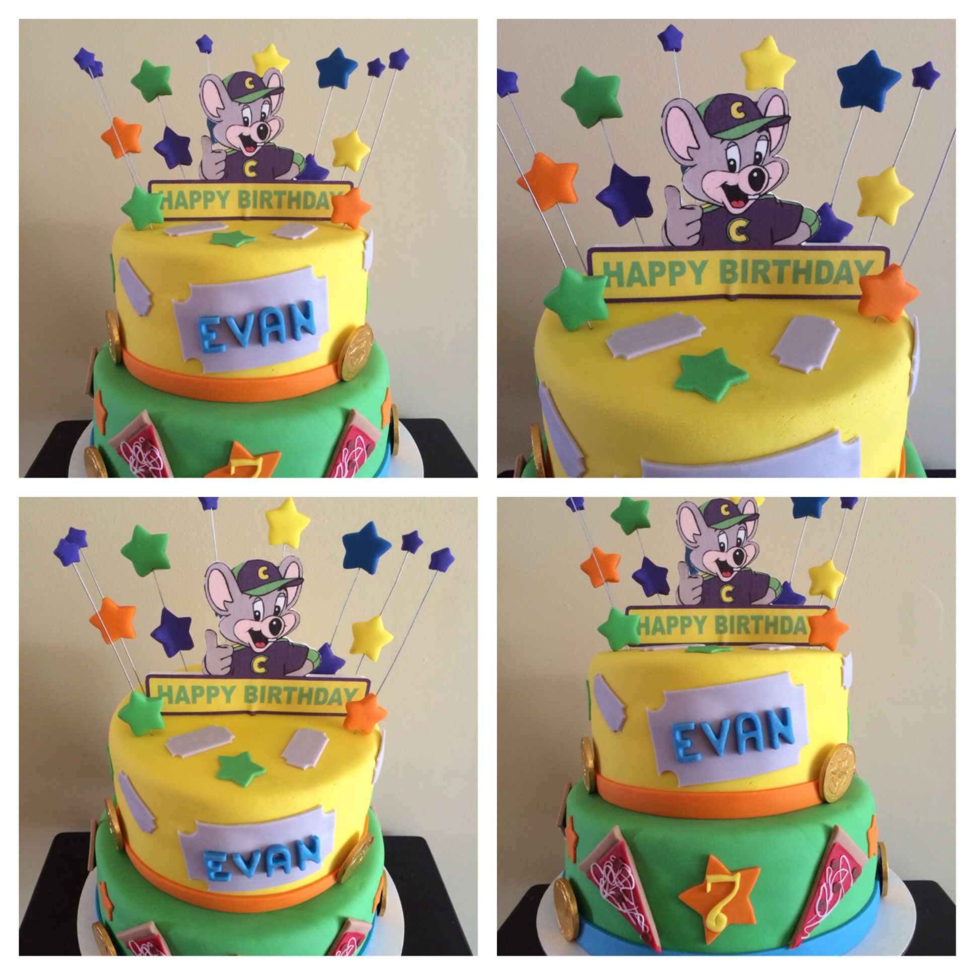 CHUCK E CHEESE CAKE Birthday Party Ideas Pinterest Cheese