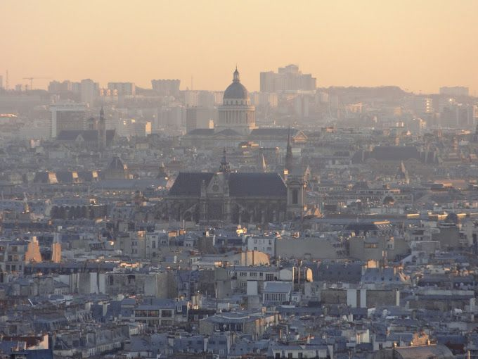 The Paris skyline. The COP21 U.N. climate conference took place in the city in December 2015. Photo by Brian Kaylor.