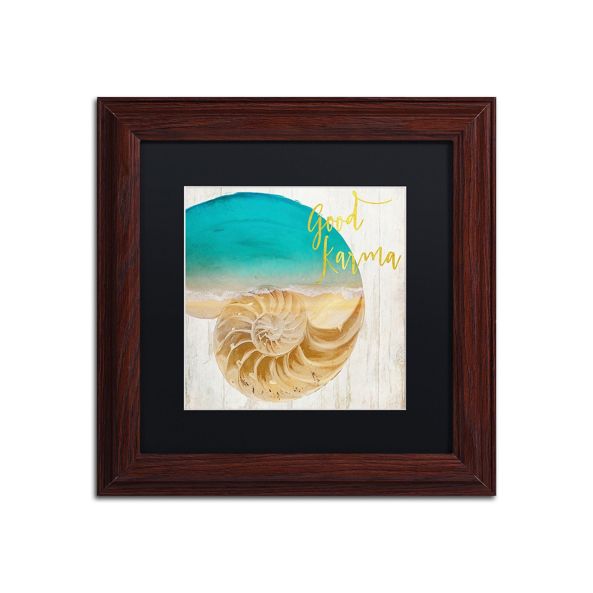 Trademark fine art sea in my hand framed wall art framed wall art