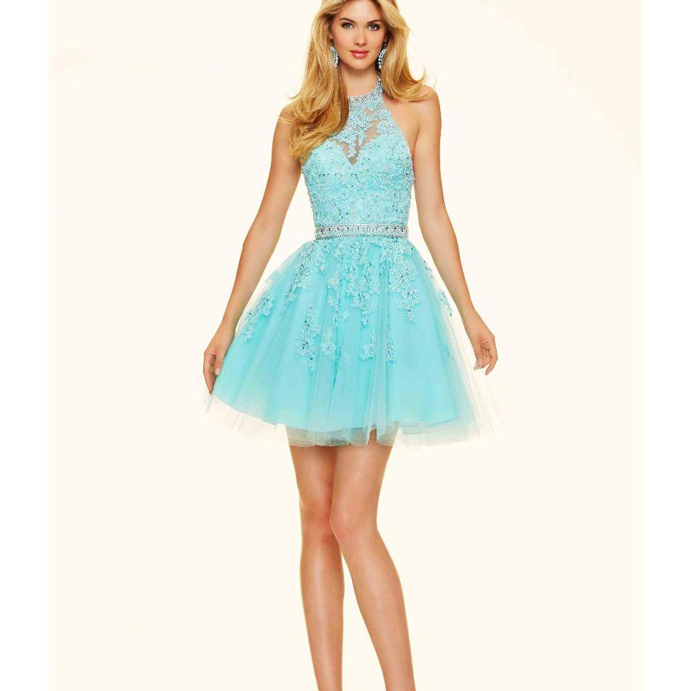 Fashion 8th Grade Prom Dresses 2016 Light Pink Homecoming Dresses ...