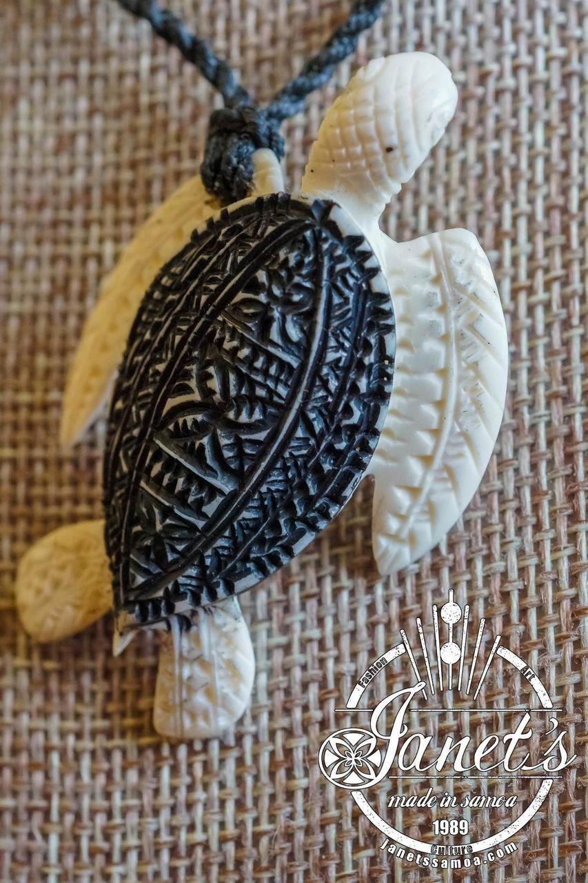 Turtle Pendant Brpc45 Turtle Pendant Bone Carving Bone Pendant