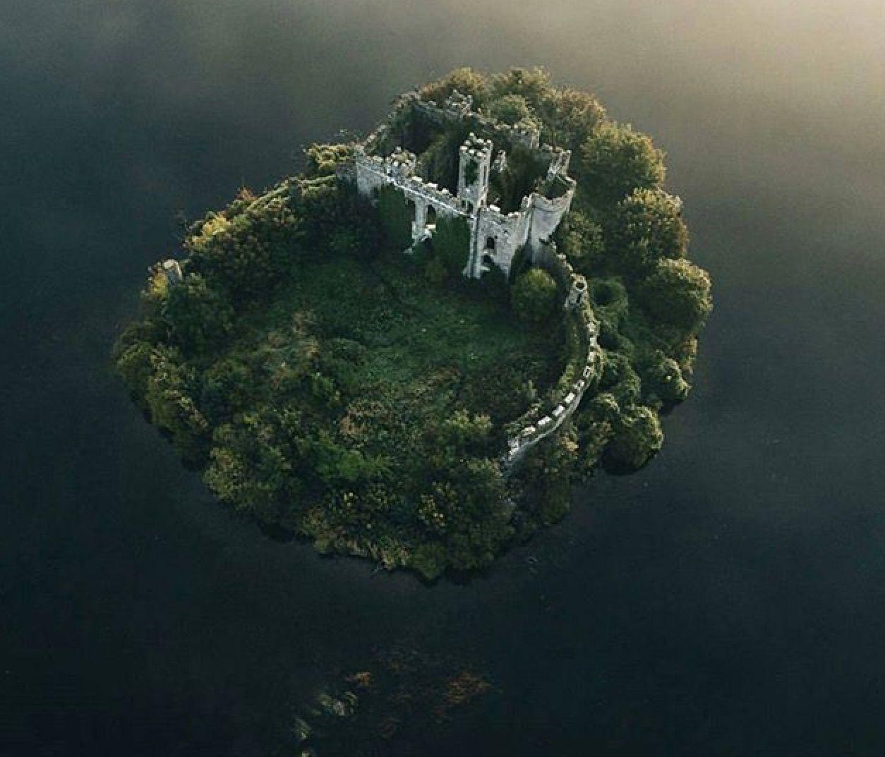 The Ruins Of McDermott's Castle, Lough Key, Ireland