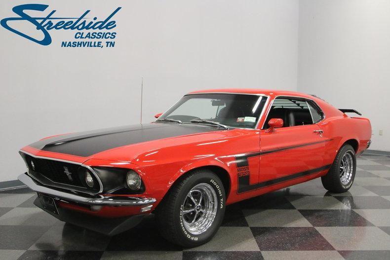 1969 Ford Mustang Boss 302 Ford Mustang Boss 302 Mustang Boss