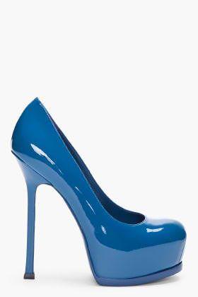 YSL royal blue!