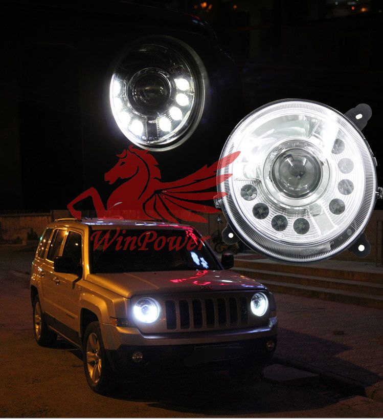 Aliexpress Com Buy For 2011 2015 Jeep Patriot Led Headlight With