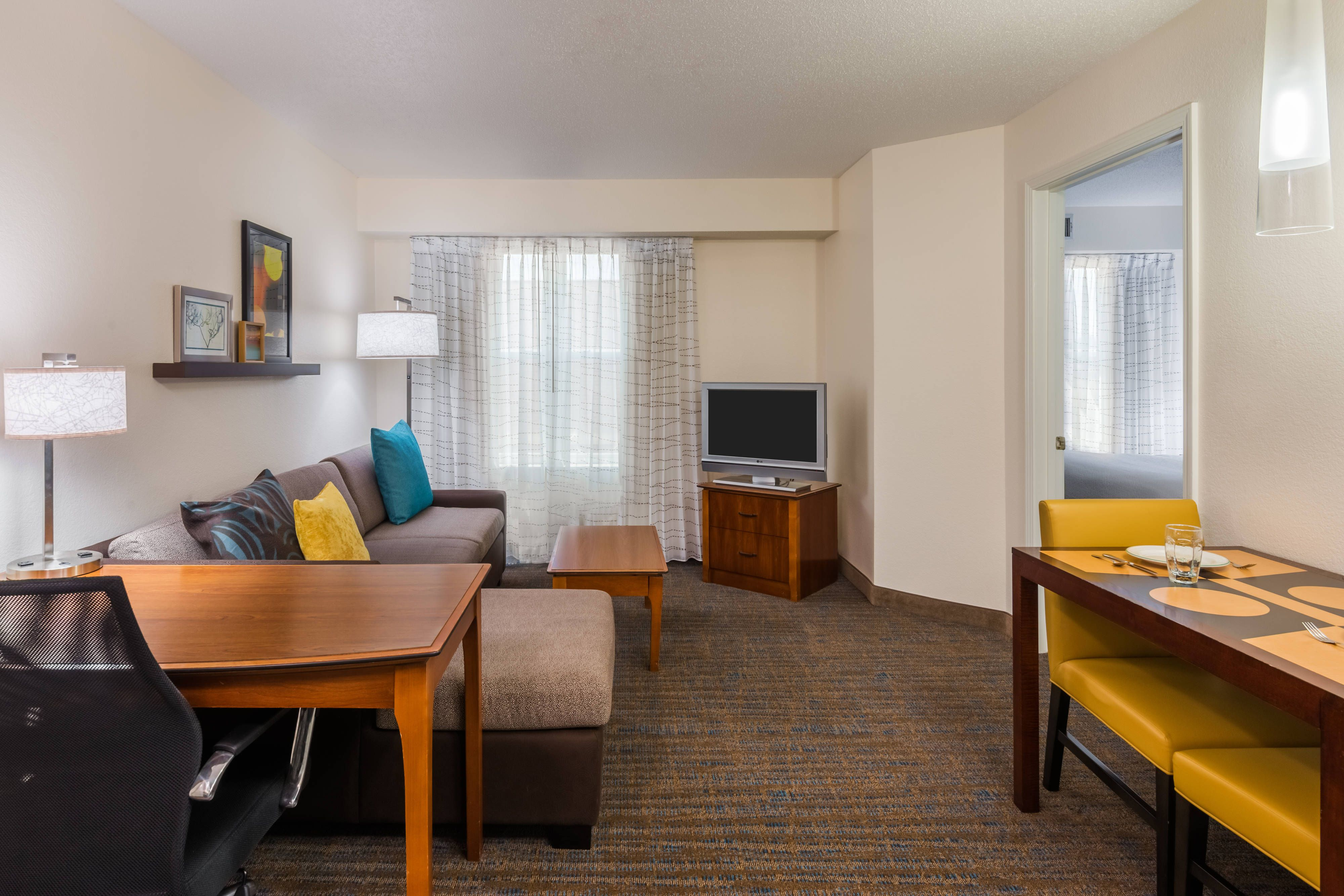 Residence Inn Boston Brockton Easton One Bedroom Suite Living Area Holidays Memorable Guestroom Home Design Plans House Design Home Decor