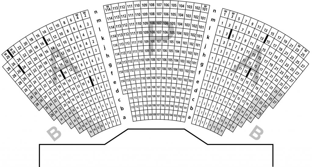 Segerstrom Center Seating Charts Seating Plan Concert Hall