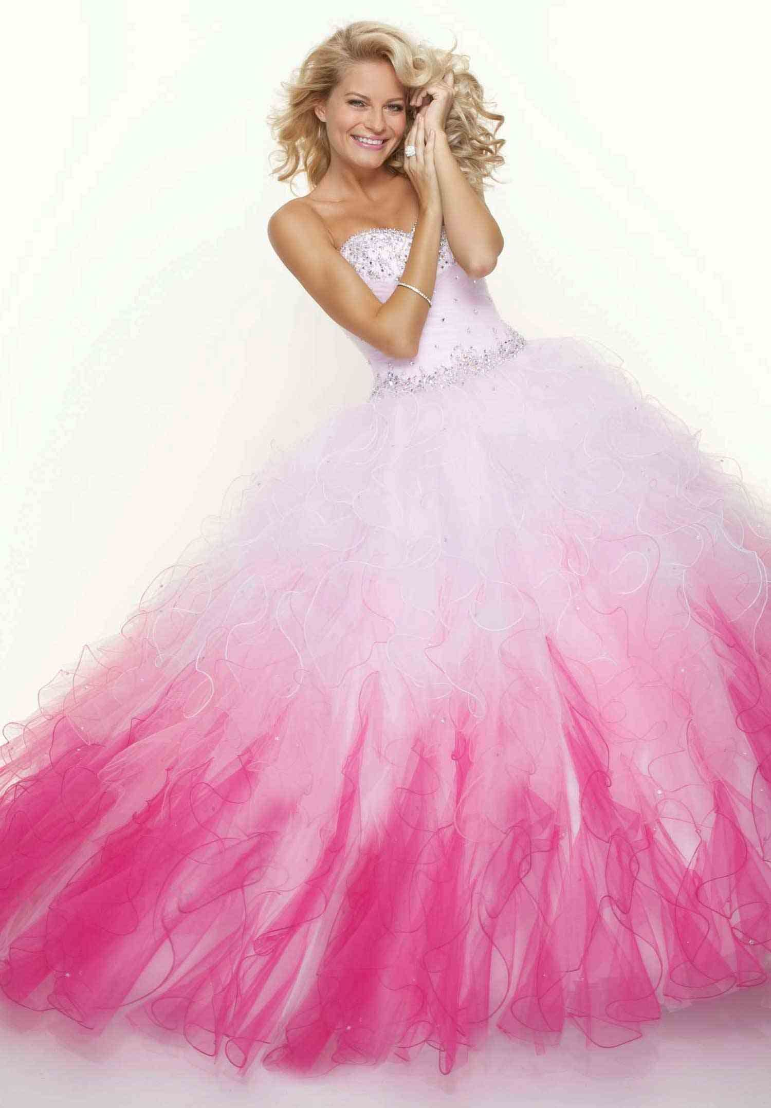 Pink Cinderella Prom Dress | wedding 2 | Pinterest | Vestidos de ...