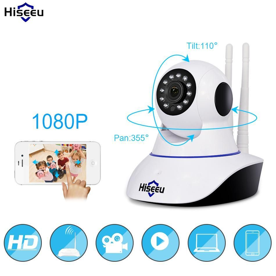 P IP wireless nanny home security surveillance camera Wifi