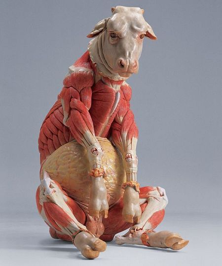Dissected Classical Sculpture by Cao Hui   Bizarro, Arte bizarro y ...