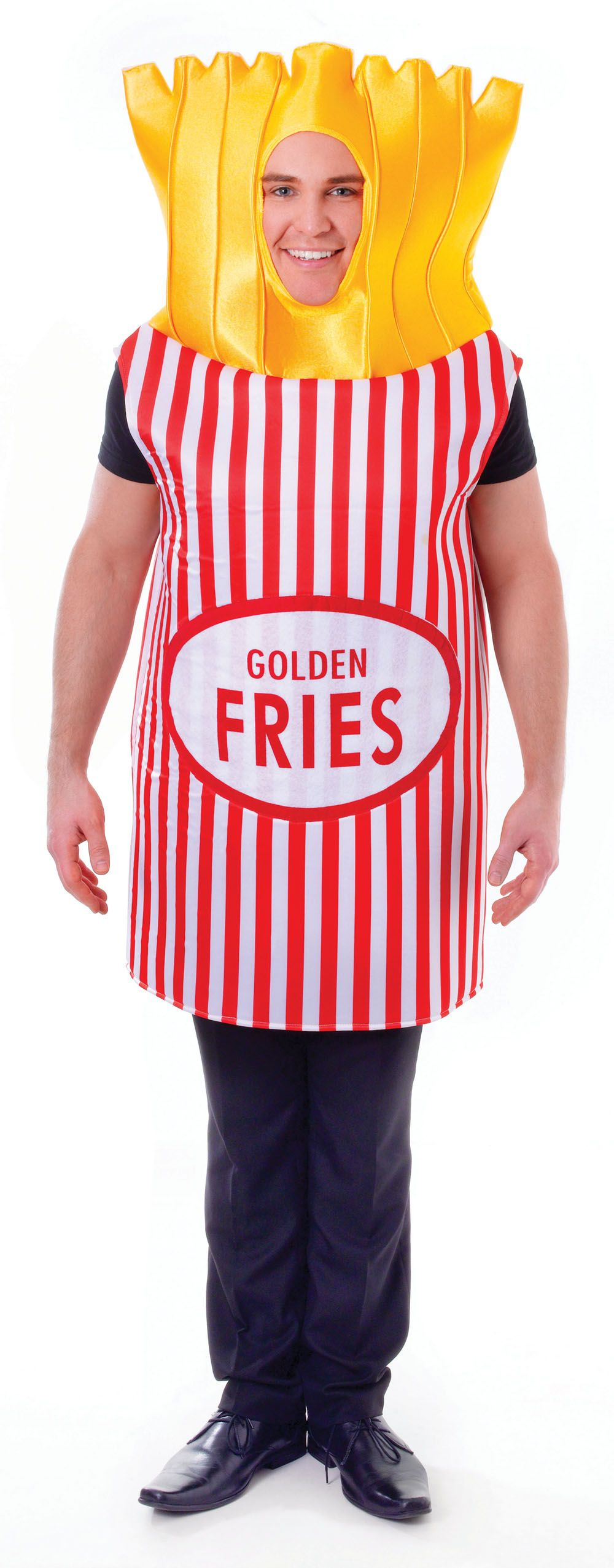 French Fries Adults Costume | French fries, Fries and Costumes