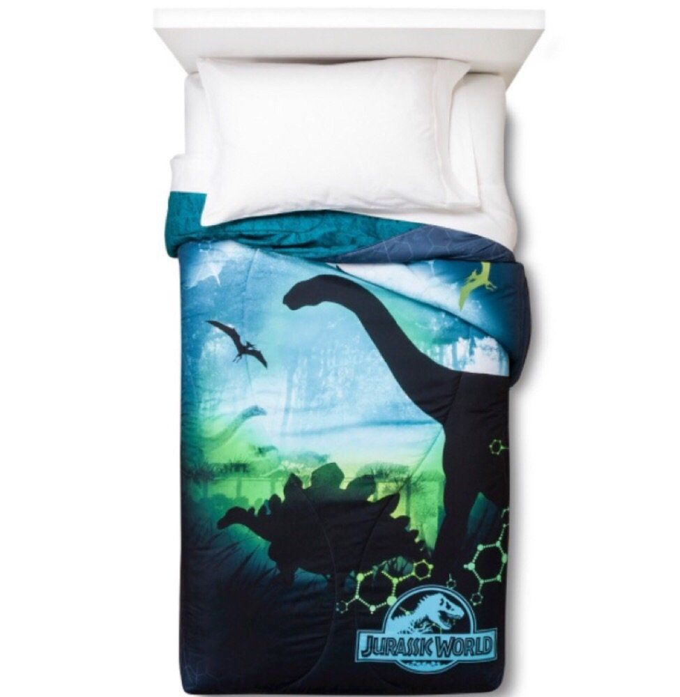 Universal Jurassic World 6 Piece Bed In A Bag Twin Bedding
