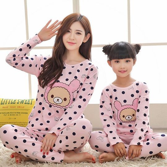 abecc5de6 Matching Mother   Daughter Pajamas! Get 10% Discount + Free Shipping ...