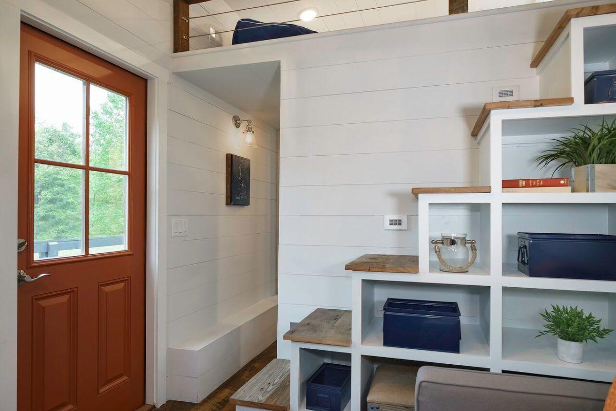 5 bedroom house interior indigo tiny house starting at   storage stairs driftwood