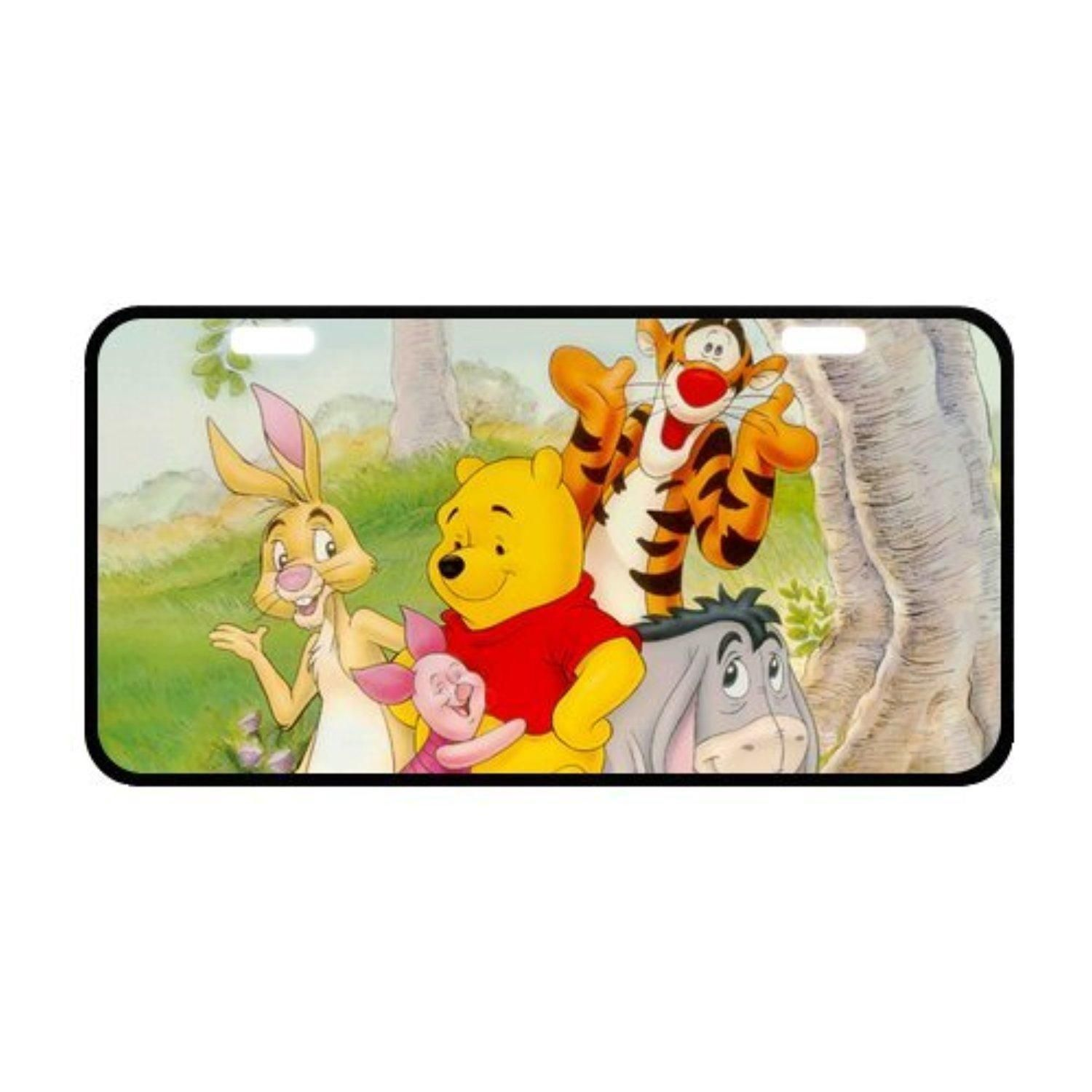 LP-Blinking Many Adventures Of Winnie The Pooh Custom License Plate Holder Durable Car Tag 11.8 X 6.1 Inches … | Custom license plate. Plate ...