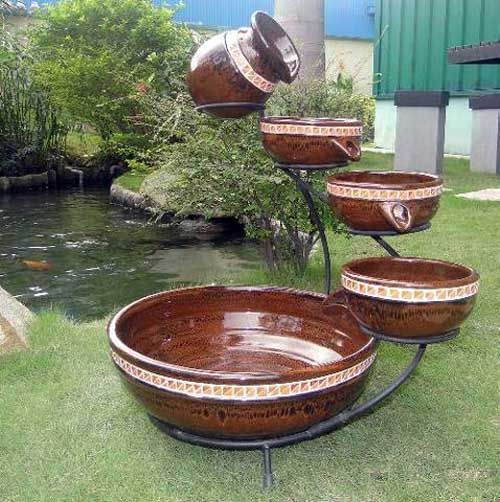 Image detail for indoor water fountain designs modern for Indoor fountain design ideas