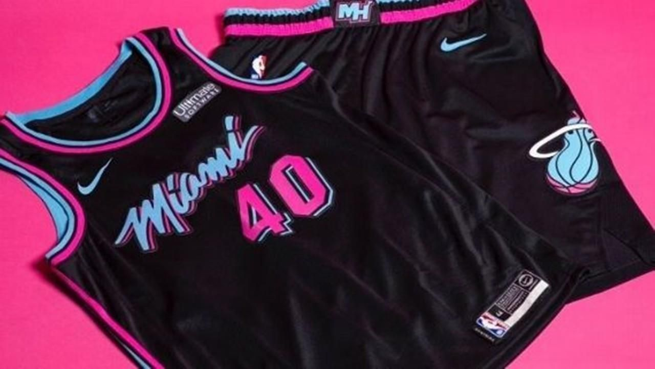 906ec399f Miami Heat reveal black Vice jerseys