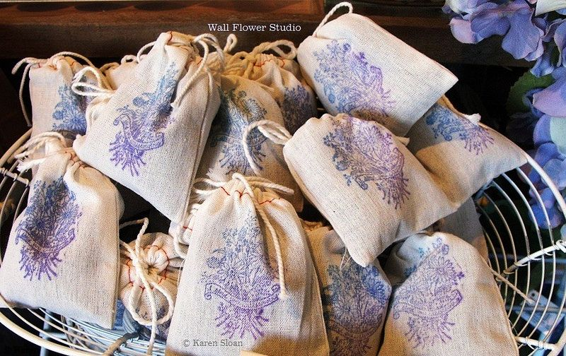 English Lavender Sachets - great for the dryer!