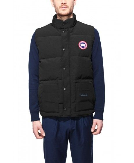 Extremely Online Freestyle Crew padded vest - Blue Canada Goose Cheap Sale Shop GpF0j8Mj
