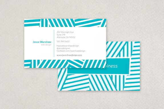 Fun stripes business card template this template features a clean fun stripes business card template this template features a clean layout a cool color reheart Choice Image