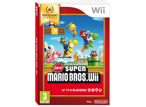 New Super Mario Bros. - Selects (Wii)