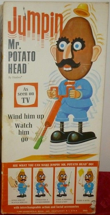 Hasbro 1966 Jumpin Mr Potato Head Mr Potato Head