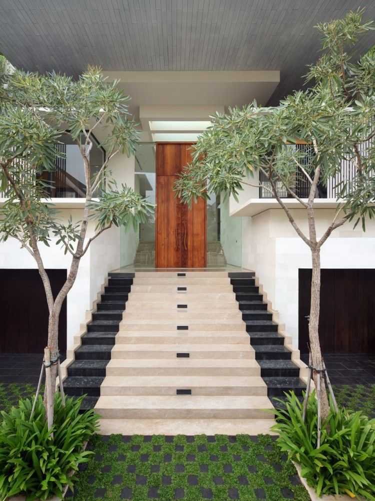 Static House by TWS & Partners | Walkways, Grasses and House