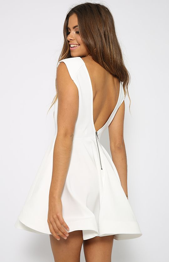 Bree Dress - White | Back In Stock | Clothes | Peppermayo